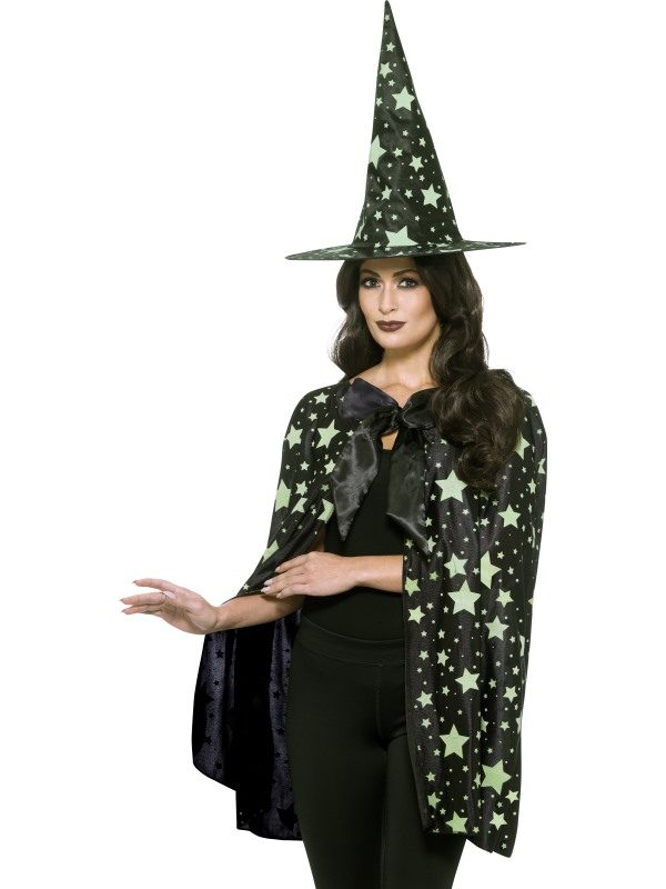 Midnight Witch Kit Fancy Dress Town Superheroes Halloween Costumes Wigs Masks Hats Party Store