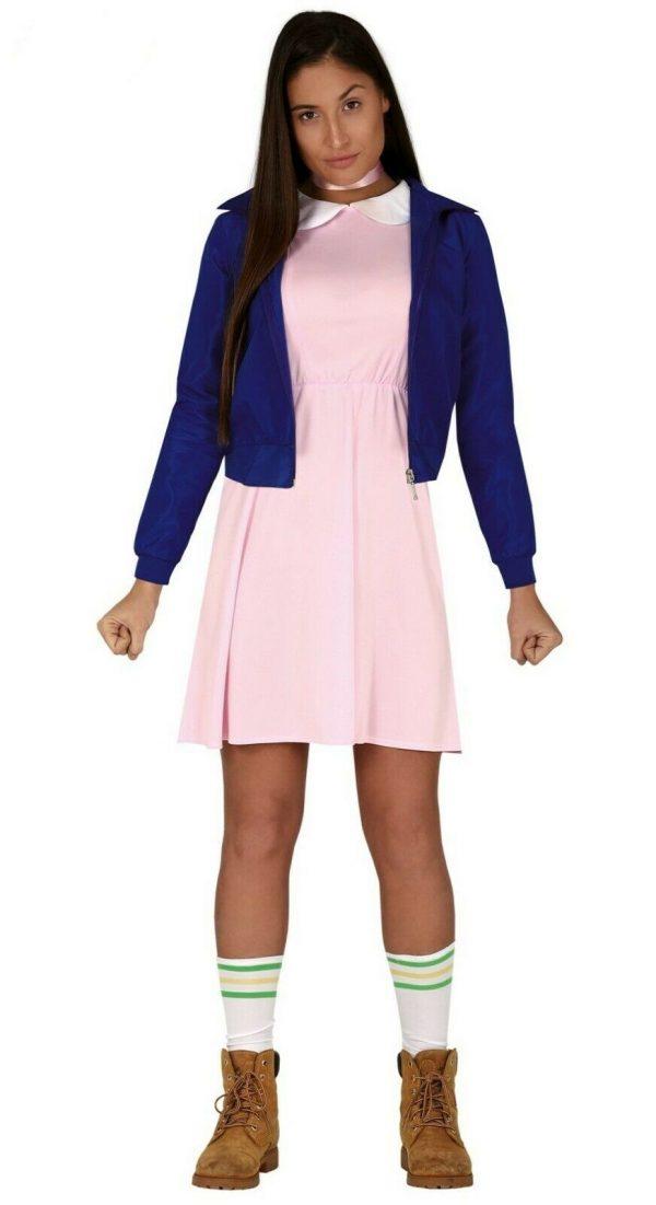 Telepathic Girl Halloween Costume for Stranger Things Eleven